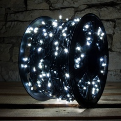 LED Lichterkette 1000er kaltweiß
