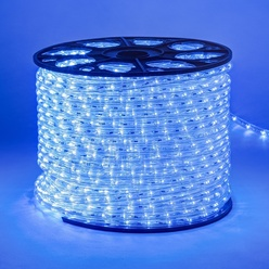 decoLED LED schlauch, 100m, blau, decoLED