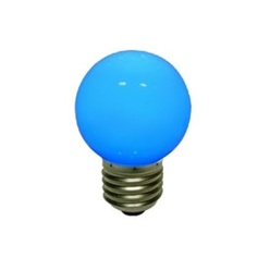 decoLED LED Birne, Schraubsockel E27, blau, decoLED